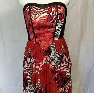 Ashley Stewart Strapless Maxi Dress